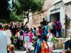 1985 - Uscita degli alunni da S. Chiara