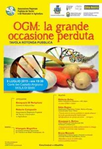 Locandina OGM Corretta