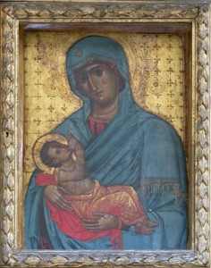 Chiesa Matrice - L'icona della Madonna di Costantinopoli