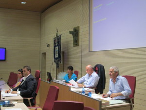 La Presidenza del Consiglio, il Sindaco Di Rutigliano e l'assessora Mola