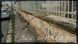 Un'immagine esterna della ex Scuola De Amicis di Via Trento