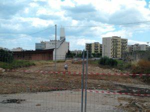 Il cantiere per il prolungamento di Via Rota: manca la rete pluviale? L'Amministrazione comunale chiarisca.