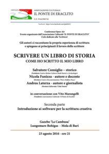 locandina evento 23 agosto 2016