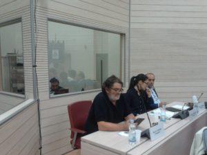 I consiglieri M. Lepore, Tribuzio e Tricase