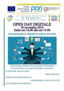 Open day digitale al 1° circolo didattico
