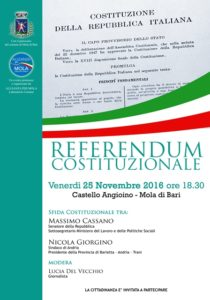 Convegno su riforma costituzionale